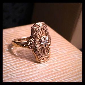 Jewelry - SOLD!!! Art Deco 10k Ring